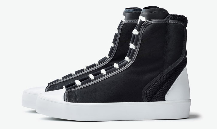 Photo03 - ADIDAS SLVR HIGH TOP LACE