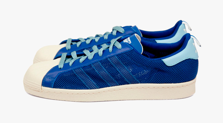"Photo01 - adidas Originals by Originals Kazuki Kuraishi x CLOT ""kzKLOT"" Superstar 80s Royal Blue"