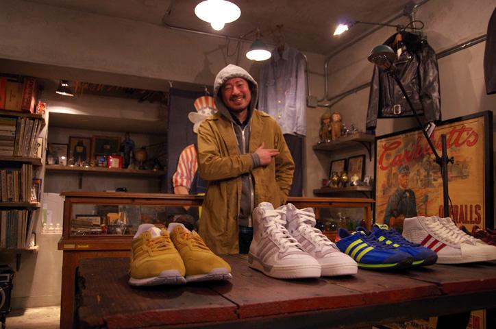 Photo11 - A-1 CLOTHING 真柄氏に「adidas Collectors Project」についてインタビュー