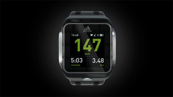 Photo04 - adidasより次世代スポーツウォッチ「miCoach SMART RUN」がついに登場