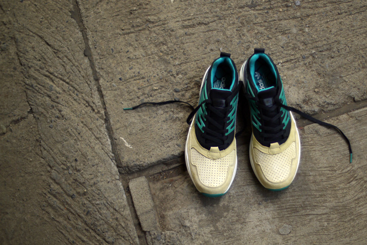 Photo05 - adidas Originals for mita sneakers TORSION ALLEGRA MITAの特集ページを公開