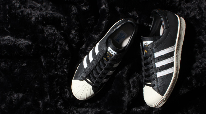 Photo01 - adidas Originals for atmos SUPERSTAR 80s GID Bの先行予約を開始