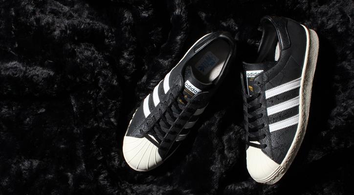 Photo01 - adidas Originals for atmos SUPERSTAR 80s GID Bの先行予約を開始