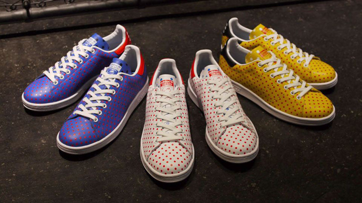 "Photo01 - アディダスよりPharrell Williams氏が提案するadidas PW STAN SMITH SPD ""SMALL POLKA DOT PACK""がリリース"