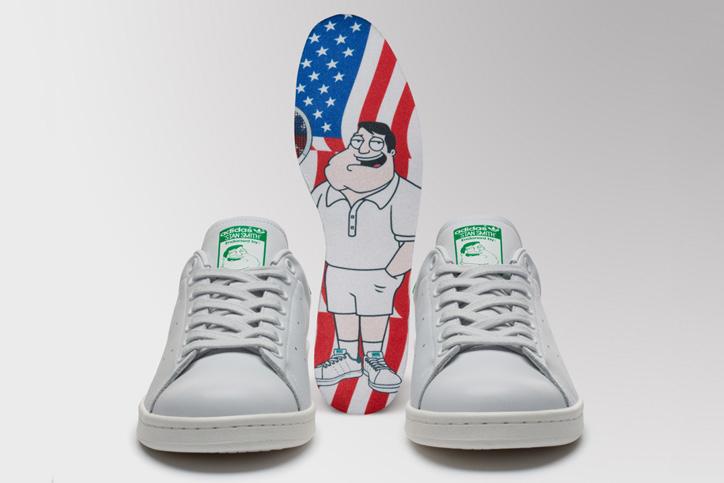 Photo04 - アディダス オリジナルスからAmerican Dadとのコラボレーションモデル adidas Originals x American Dad STAN SMITHが発売