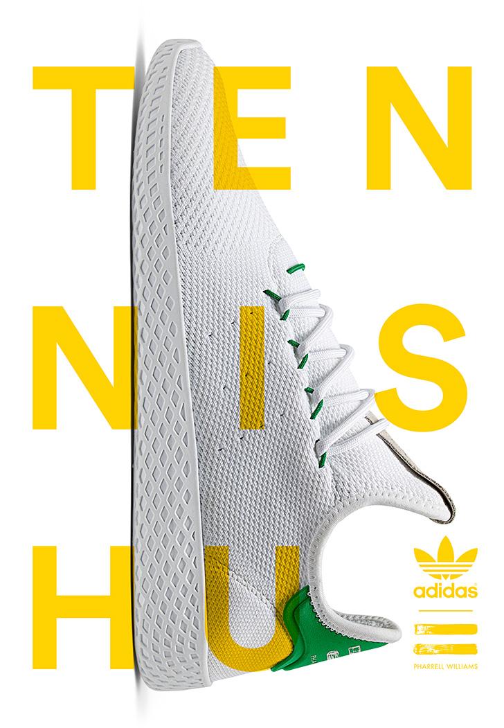Photo03 - アディダス オリジナルスの名作スタンスミスからインスパイアされた、adidas Originals = PHARRELL WILLIAMS Tennis Huが登場
