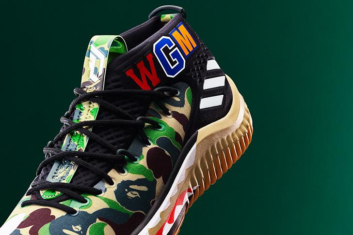 Photo04 - アディダス バスケットボールとA BATHING APE®のコラボレーション、adidas Basketball by BAPE® DAME 4が登場