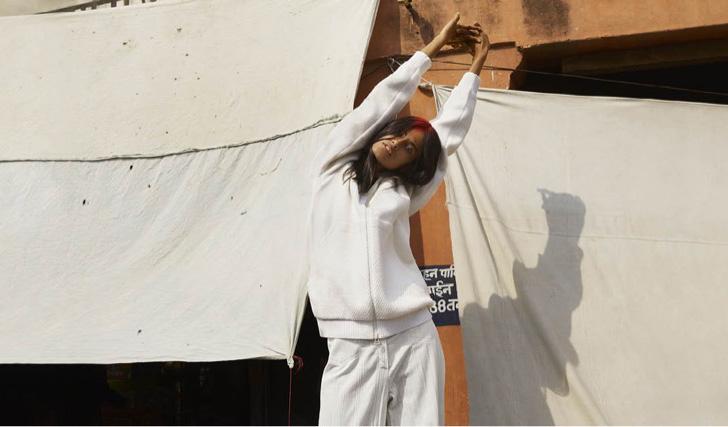Photo02 - アディダスから、平和と平等を象徴したオールホワイトのコレクションadidas Originals = Pharrell Williams Hu Holi Blank Canvasが登場