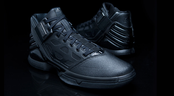 "Photo01 - adidas adiZero Rose 2 ""Triple Black"""