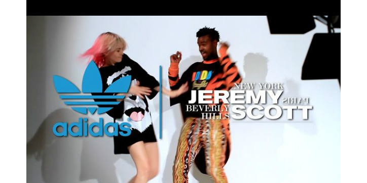 Photo01 - Jeremy Scott x adidas Originals 2011 Fall/Winter Photoshoot