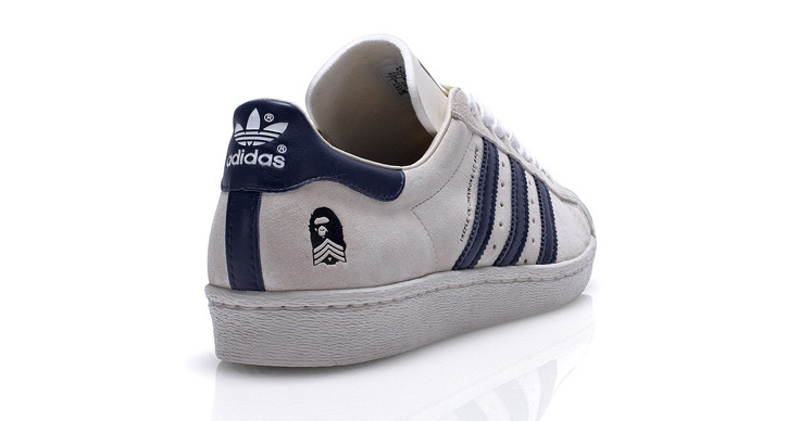Photo04 - BAPE x adidas Originals Fall/Winter 2011 'B-Sides' Superstar 80s