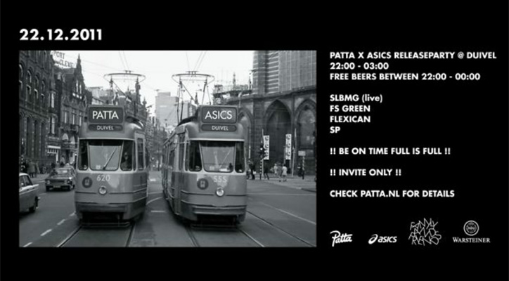 Photo01 - Patta x asics GEL Saga Video