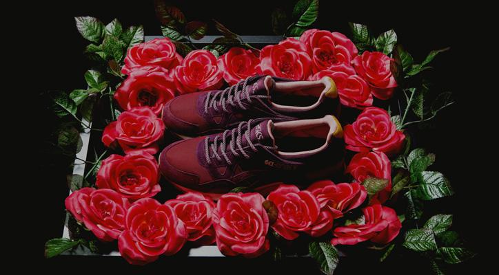 "Photo01 - アシックスは、mita sneakersとのコラボレーションモデル asics GEL-LYTE V ""Dried Rose"" を発売"