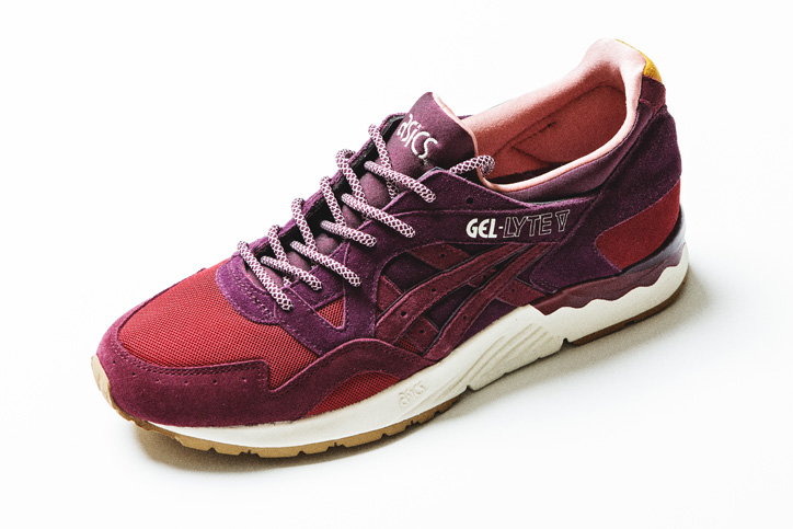 "Photo03 - アシックスは、mita sneakersとのコラボレーションモデル asics GEL-LYTE V ""Dried Rose"" を発売"