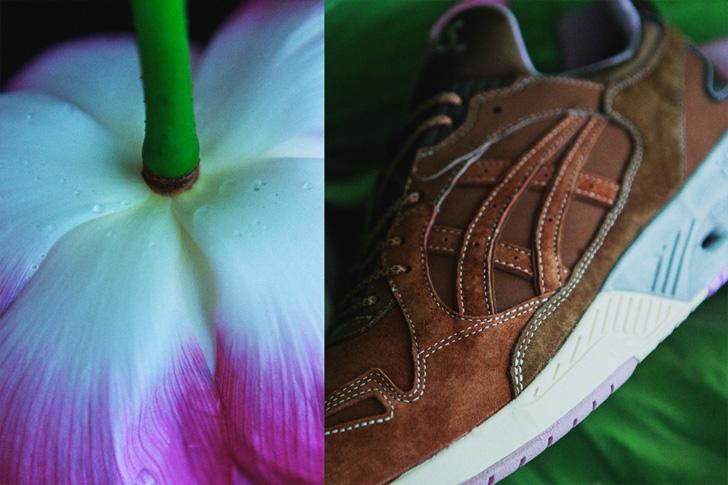 Photo03 - アシックスタイガーは、Lotus Pondと名付けられたmita sneakersとのコラボモデルを発売