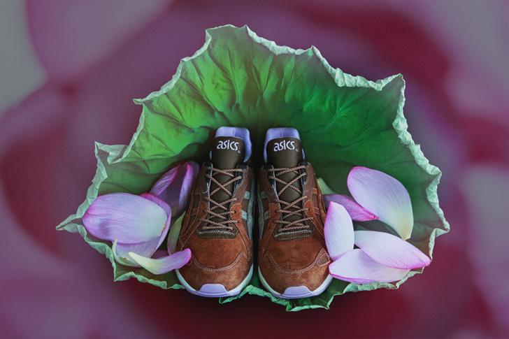 Photo07 - アシックスタイガーは、Lotus Pondと名付けられたmita sneakersとのコラボモデルを発売