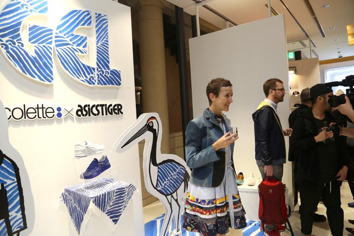 Photo03 - アシックスタイガーは、鶴の恩返しから着想を得たcoletteとのコラボレーションモデルGEL-LYTE Vを発売