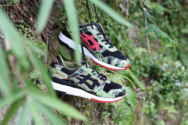 "Photo01 - ASICSTIGERは、atmosとのコラボレーションモデルGEL-LYTE Ⅲ for atmos ""GREENCAMO""を発売"