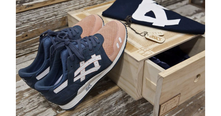 "Photo01 - RONNIE FIEG x ASICS GEL-LYTE III ""SALMON TOE"""
