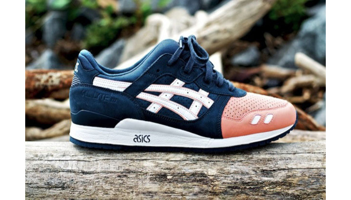 "Photo02 - RONNIE FIEG x ASICS GEL-LYTE III ""SALMON TOE"""