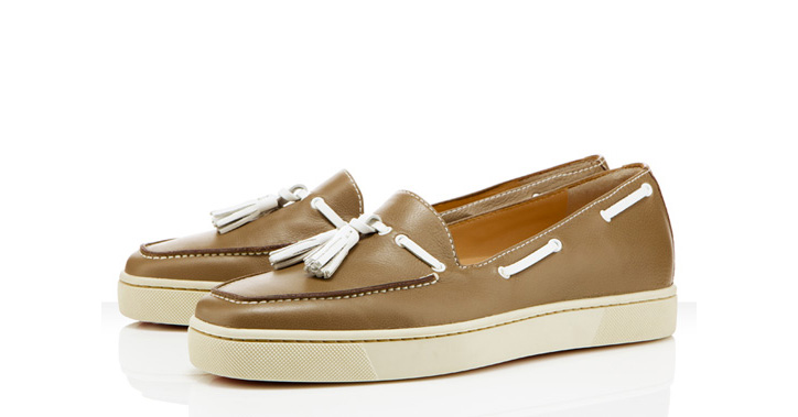 Photo01 - Christian Louboutin Biarritz Flat – Beige Colorway