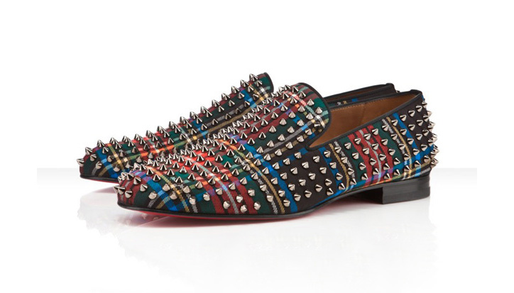 "Photo01 - Christian Louboutin ""Tartan"" Rollerboy Spikes"