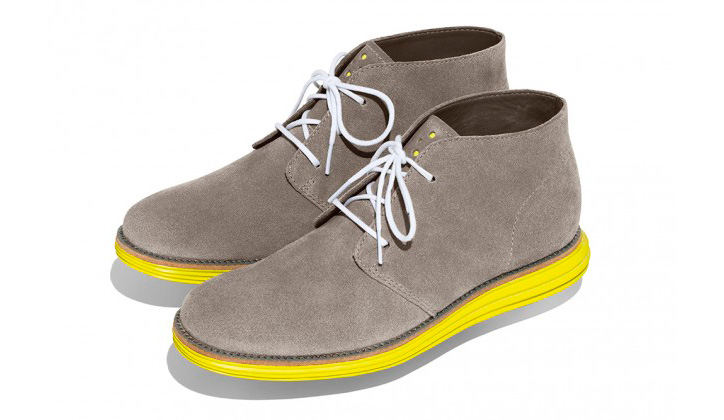 Photo03 - Cole Haan LunarGrand Chukka Pink & Yellow's