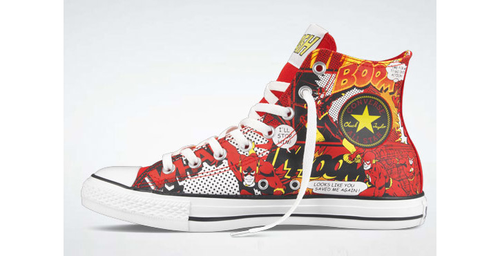 Photo03 - Converse x DC Comics Holiday 2011 Chuck Taylor All Star Hi Collection