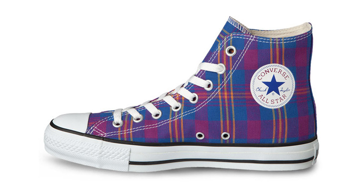 "Photo02 - CONVERSE CHUCK TAYLOR ""FRENCH MADRAS"" PACK"