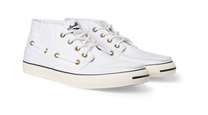 Photo02 - CONVERSE JACK PURCELL BOAT SNEAKERS