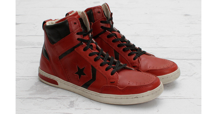 "Photo03 - JOHN VARVATOS FOR CONVERSE WEAPON MID ""FADED ROSE"""