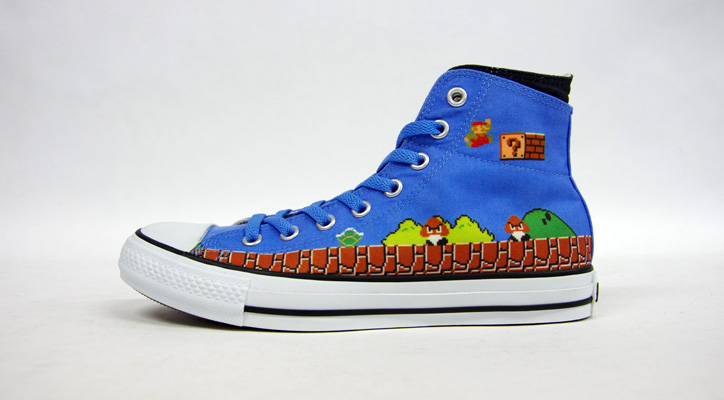 "Photo03 - CONVERSE ALL STAR MARIO BROS. SC HI ""LIMITED EDITION for STAR SHOP"""