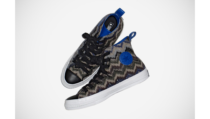 Photo01 - Missoni x Converse 2011 Fall/Winter Chuck Taylor