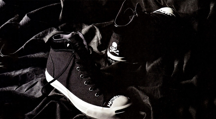 Photo01 - mastermind JAPAN x Converse Jack Purcell Mid