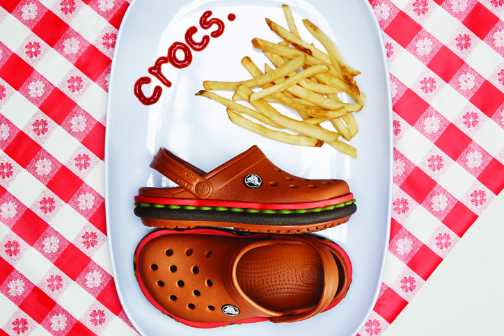 Photo01 - crocs crocband hamburger clogが限定発売開始