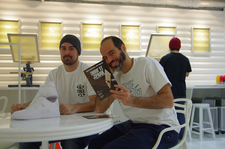 Photo Bobbito 03 - Interview with Bobbito Garcia & Kevin Couliau at NIKE AIR FORCE 1 THE PIVOT POINT