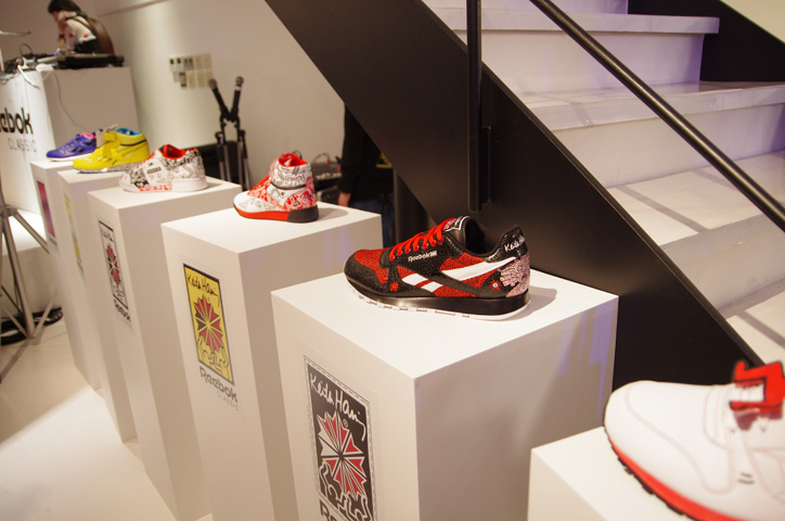 Photo02 - Reebok x Keith Haring Exhibition