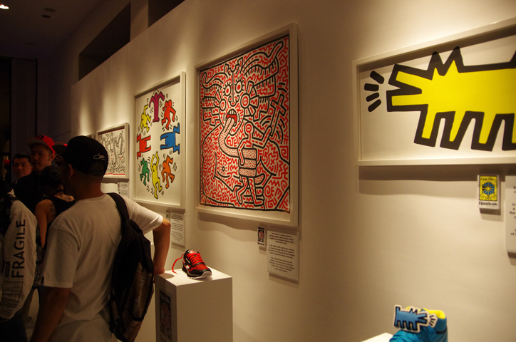 Photo07 - Reebok x Keith Haring Exhibition