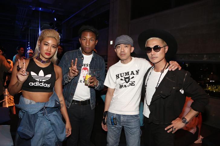 Photo26 - アディダスは、Superstarをテーマに一夜限りのアソビ場を創り出すCELEBRATION PARTY TOKYO by Pharrell Williams & YOONを開催