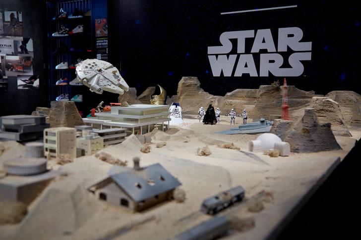 Photo01 - アディダスは、3Dプリンターでmi STAR WARSご購入者のフィギュアを作成するキャンペーンをスタート