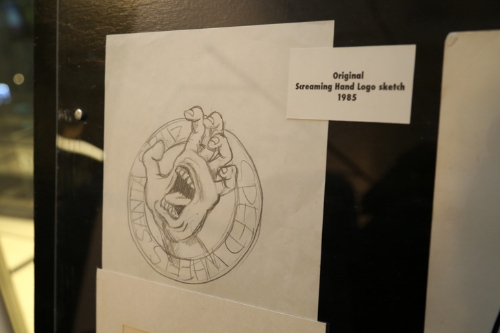 Photo02 - SCREAMING HAND 30th ANNIVERSARY ART SHOW at BEAMS T Recap