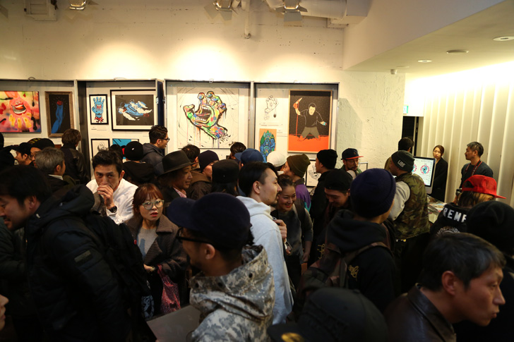 Photo19 - SCREAMING HAND 30th ANNIVERSARY ART SHOW at BEAMS T Recap