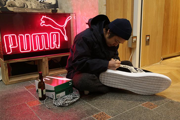 Photo05 - PUMA × KICKS LAB. JPN SUEDE 81BASTARDSの発売を記念し、ローンチパーティーを開催