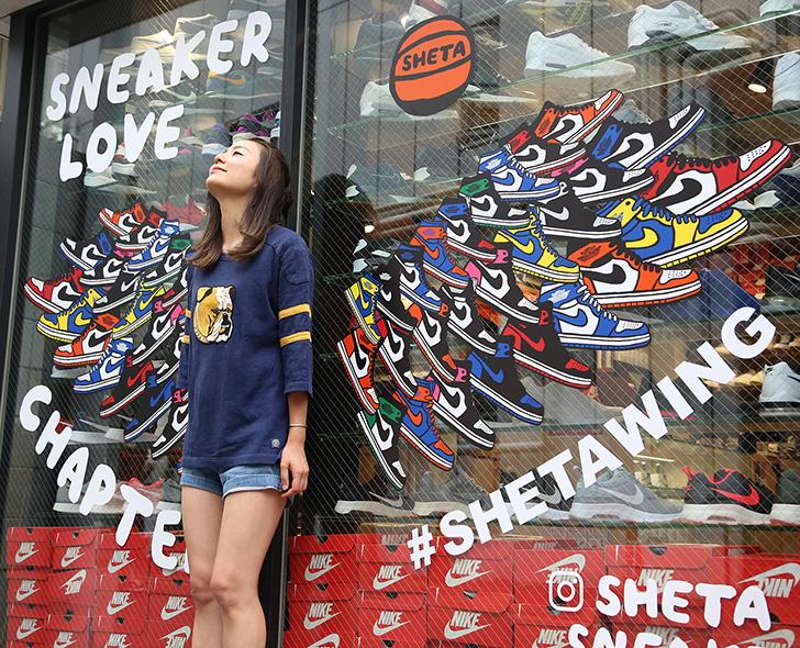 Photo06 - CHAPTER HARAJUKU ANNEXにて、アーティストSHETAとのコラボレーションアートワーク