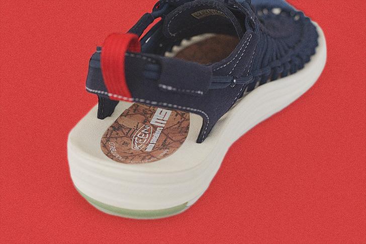 "Photo03 - KEENから、mita sneakersとのコラボレーションモデルUNEEK ""mita sneakers""が登場"