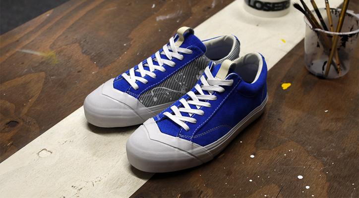 "Photo01 - LOSERS デザイナー sneakerwolf氏がドリッピング加工を施した LOSERS SCHOOLER LO ""Cobalt"" ""mita sneakers x sneakerwolf""を発売"