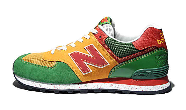 Photo03 - NEW BALANCE M574 TROPICAL FRUIT PACK