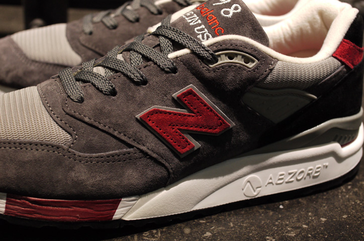 """Photo04 - new balance M998 """"made in U.S.A."""" """"LIMITED EDITION"""""""