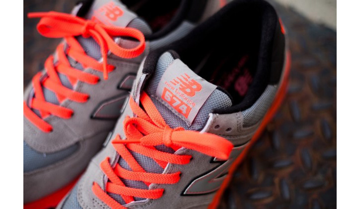 "Photo04 - New Balance 574 ""Infrared"""