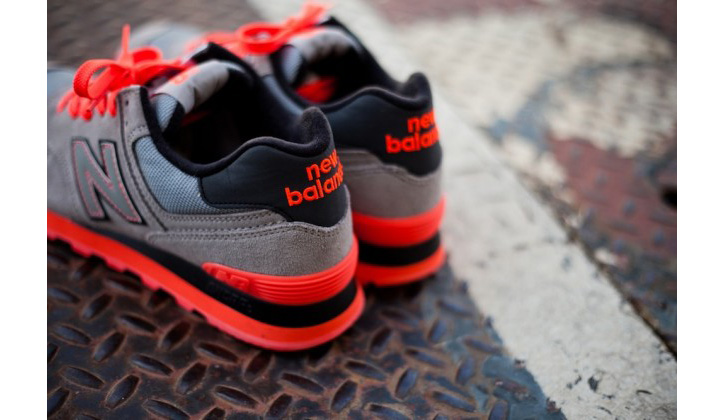 "Photo05 - New Balance 574 ""Infrared"""